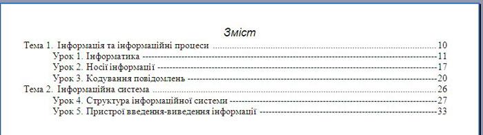 Контрольна робота №2 з теми «Текстовий процесор Microsoft Word» Варіант 2