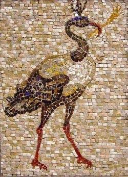 Пример мозаики из камня